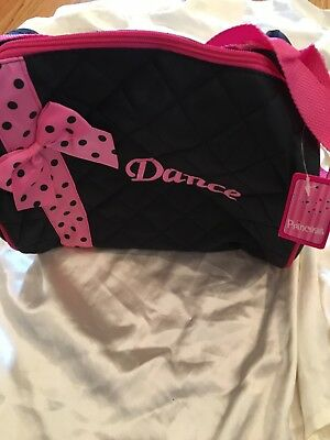 Dance Bag NWT In Package. Black Pink With Bow