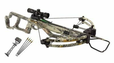 NEW Parker Bows Enforcer Crossbow 4X Multi Reticle Scope Package 315 FPS X301-MR