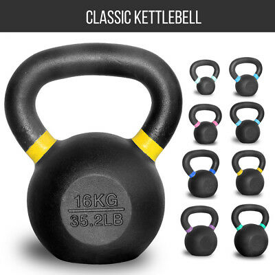 NEW Set of 8KG 12KG 16KG 20KG Classic Kettlebell Russian Style Fitness Strength