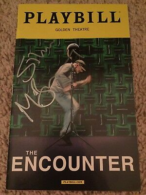 The Encounter Authentic Signed Playbill Autograph