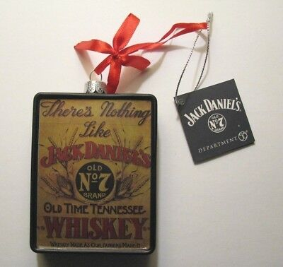 *jack Daniels Old No. 7 Oop Whiskey Christmas Holiday Ornament – Department 56*