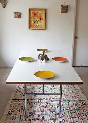 Vintage George Nelson for Herman Miller Dining Table Desk Mid Century Modern