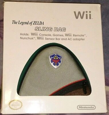 The Legend of Zelda Sling Bag for Nintendo Wii.  Brand New in Box