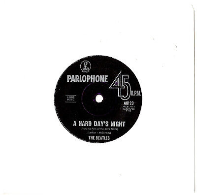 "The Beatles - A Hard Day's Night / Things We Said Today - 7"" 45 Vinyl Record"