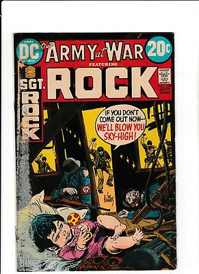 Our Army at War #249 (Sept 1972 DC Comics) Sgt. Rock