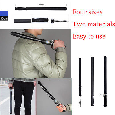 Camping Tactical Stick Portable Tool Fitness Hiking Survival Anti-Slip Xmas Gift