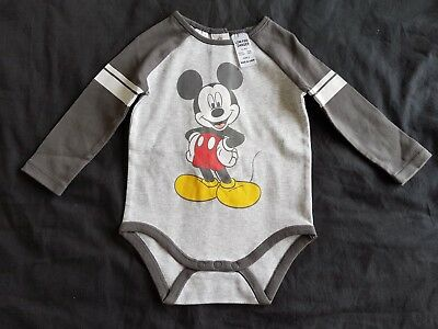 Boys new MICKEY MOUSE romper size 0
