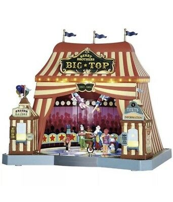 Lemax Berry Brothers Big Top Circus Tent Christmas Carnival