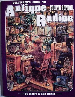 VINTAGE RADIO's VOL. 4 PRICE GUIDE COLLECTORS BOOK Very Collectible Reference BK