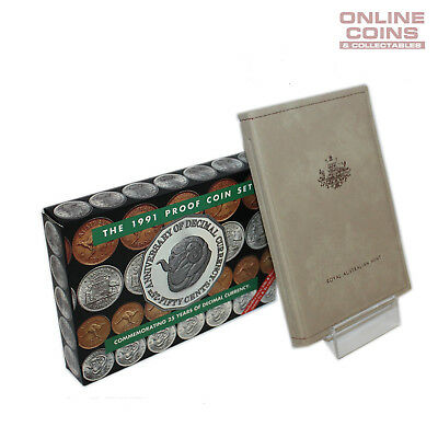 1991 Royal Australian Mint Eight Coin Proof Year Set - 25yrs of Decimal Currency
