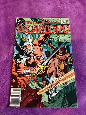 The warlord #83 rare bronze age signed by gary cohn dc comics comic book vintage