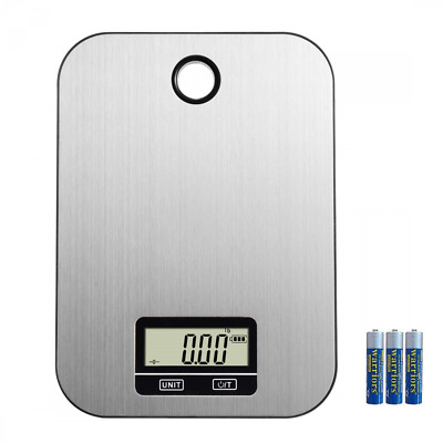 Kitchen Scale Multifunction Electronic Stainless Steel Food Grams for Weight NEW