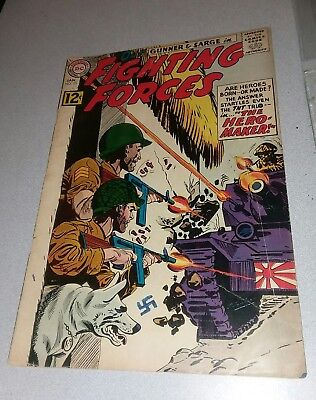 Our Fighting Forces #73 dc comics 1963 Silver age lot run war movie collection