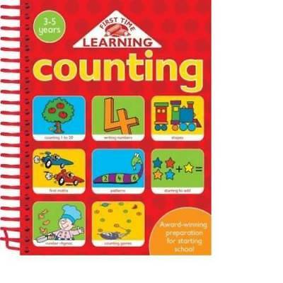 4 IN 1 SPIRALS: COUNTING (First Time Learning), Nina Filipek, New