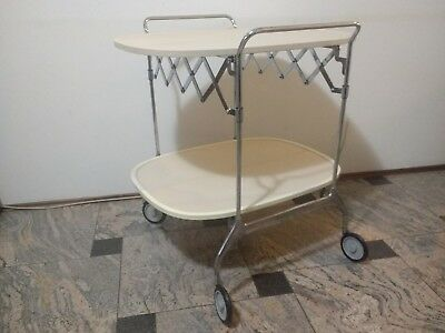 Kartell Citterio-Low Tea Trolley Usato/Restaurato