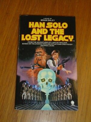 Han Solo and Lost Legacy by Brian Daley Sphere Star Wars (Paperback)<