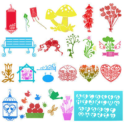 Metal Frame Cutting Dies Scrapbooking Embossing DIY Paper Album Card Die Cutter