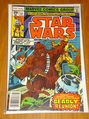 Star Wars #13 Marvel Vol 1 July 1978 High Grade Copy*