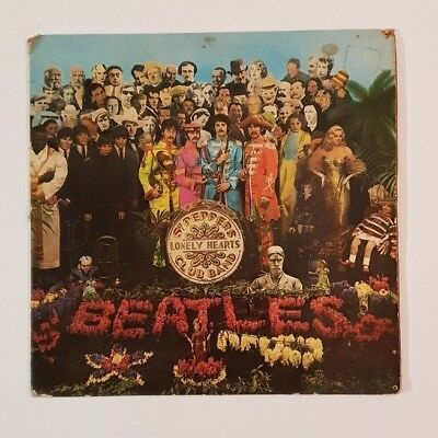 The Beatles - Sgt. Pepper's Lonely Hearts Club Band - 1967 - UK Vinyl LP