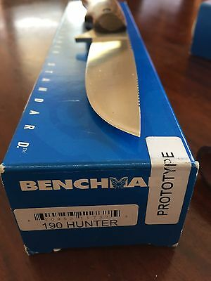 Benchmade 190 Drop Point Hunter Prototype rare