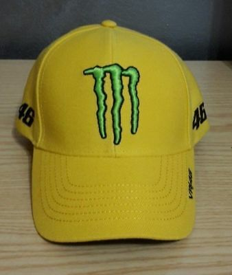 Cappello Originale Valentino Rossi Vr46 Factory The Doctor Motogp Monster  Energy 5e8284c9aa5a