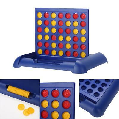 Kid Child Connect Four In A Row 4 In A Line Board Game Toy Set Family Fun Travel