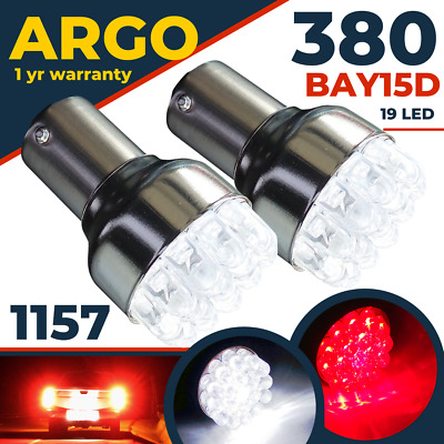 380 Led 1157 Bay15d P21w 21/5w Car Reverse Back brake stop Tail Light Bulbs 12v