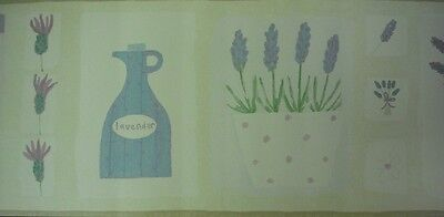 Kitchen Lavender - Wall Border - Sweet  Herbs - Wallpaper Frieze - 27112201