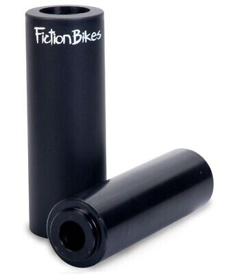 Fiction Troop Acero/Thermalite Freestyle Bmx Peg Negro Parque Bicicletas