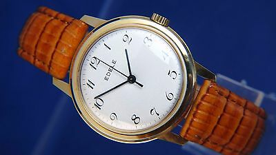 Vintage Edele Gents Swiss Mechanical Watch 1960S NOS Brand New Old Stock