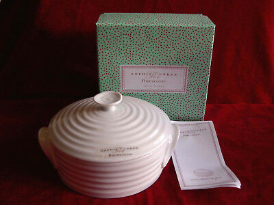 Portmeirion Sophie Conran Mini Baker Baking Dish With Lid Cover Brand New Boxed