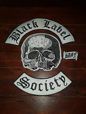 Black Label Society patch rückenpatch
