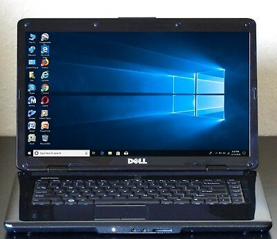 Dell Inspiron 1545 Laptop 4GB Ram Dual Core Intel SSD Windows 10 64-bit Office