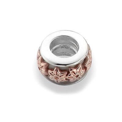 NEW Official Welsh Clogau Gold Silver & Rose Gold Daffodil Bead Charm £10 off!
