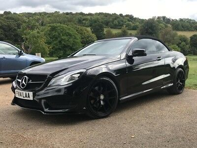 2014 Mercedes E250 AMG 2.1 CDI AUTOMATIC CONVERTIBLE REPAIRED SALVAGE