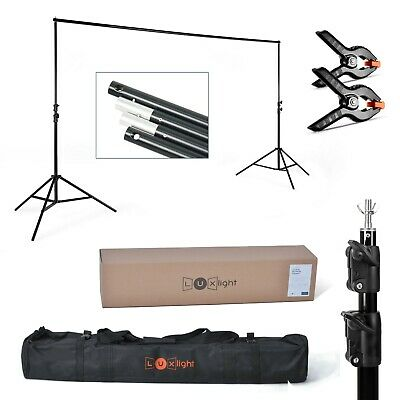Backdrop Support - Heavy Duty | Photography & Video Studio Background Stands Set