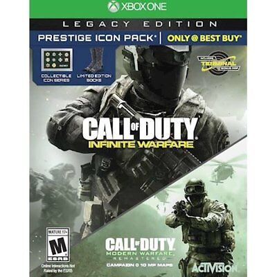 New! Call of Duty Infinite Warfare Legacy Edition For Xbox One - 600603207495
