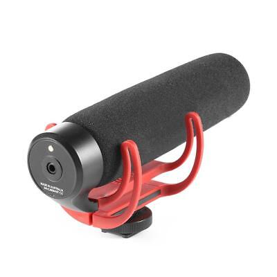 3.5mm VideoMic Go On Camera Video Microphone DSLR Video Mic for Nikon, Canon