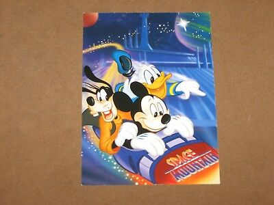 Disney Magic Kingdom Space Mountain Height Requirement Family Fast Pass Card