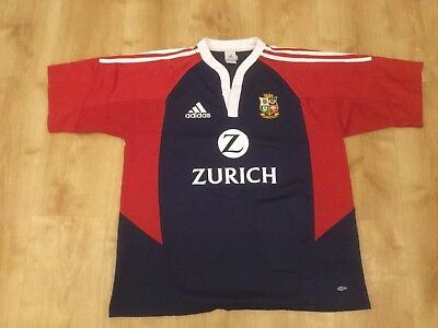 Lions 2005 Away rugby shirt, Adidas, Short Sleeve, Size Extra Large, Mens