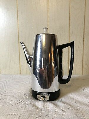 Vintage General Electric GE Immersible Automatic Coffee Percolator A8P15
