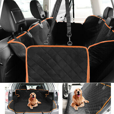 Waterproof Pet Dog Car Seat Hammock Cover Truck Suv Back Rear Protector Travel
