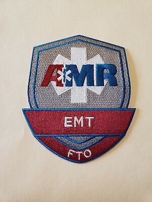 AMR Fire Department EMS Patch FTO