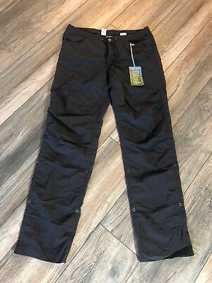 Nwt's Exofficio Insect Shield Pants Women's size 6 Gray 80$$$ tags