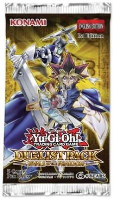 Konami YGO Booster Pack Duelist Pack - Rivals of the Pharaoh Booster Pack MINT