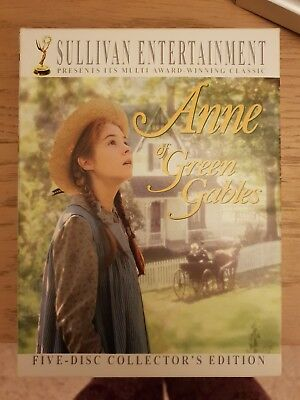 Anne Of Green Gables Trilogy - 5 Disc Collector's Box Set  -  DVD -