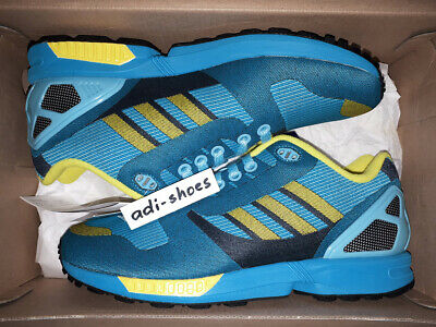 9370267340e5c ADIDAS ZX 8000 Aqua 1998 Antique! US 10.5 EU 44.5 UK 10 X mas sale ...
