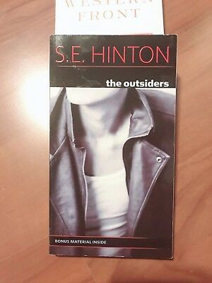 The Outsiders by S. E. Hinton (Bonus Material Inside) VERY GOOD CONDITION