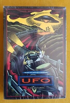 UFO CD ROM - UFO - The Planet's Most Complete Guide to Close Encounters - Sealed