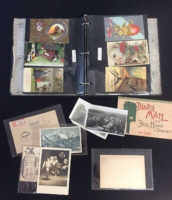 Awesome Collection Of Vintage Early 1900's Post Cards Photos & More
